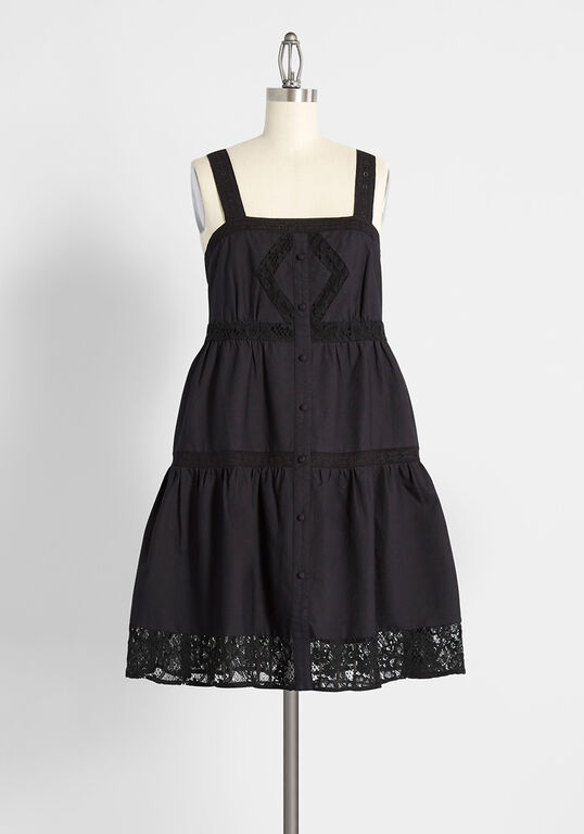 ModCloth Black Summer LBD