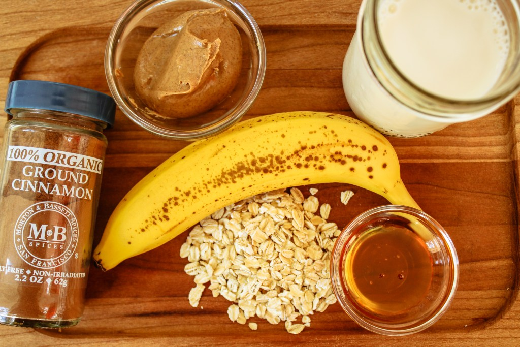 Quick and Easy Breakfasts - Oatmeal Shake