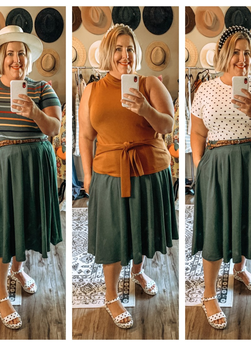 How to Style a Skirt Three Ways
