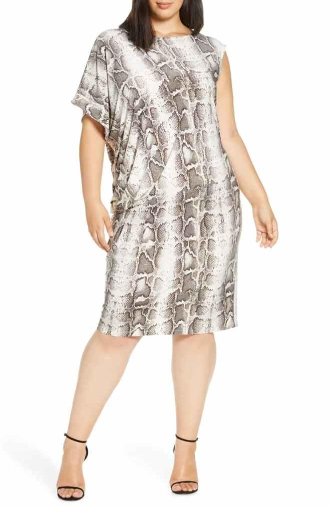 Nordstrom Snake Print Dress