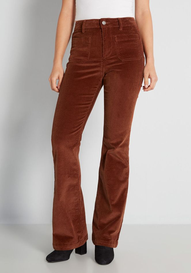 Bootcut Cords ModCloth