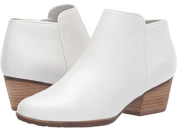 Zappos White Booties
