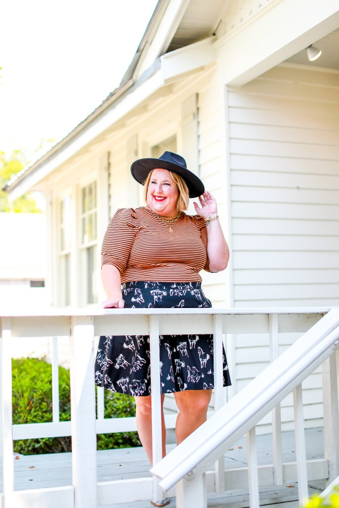Hats you need this fall - Tiffany in  a black rancher hat