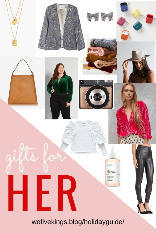 We Five Kings Gift Guide - Gifts for Her