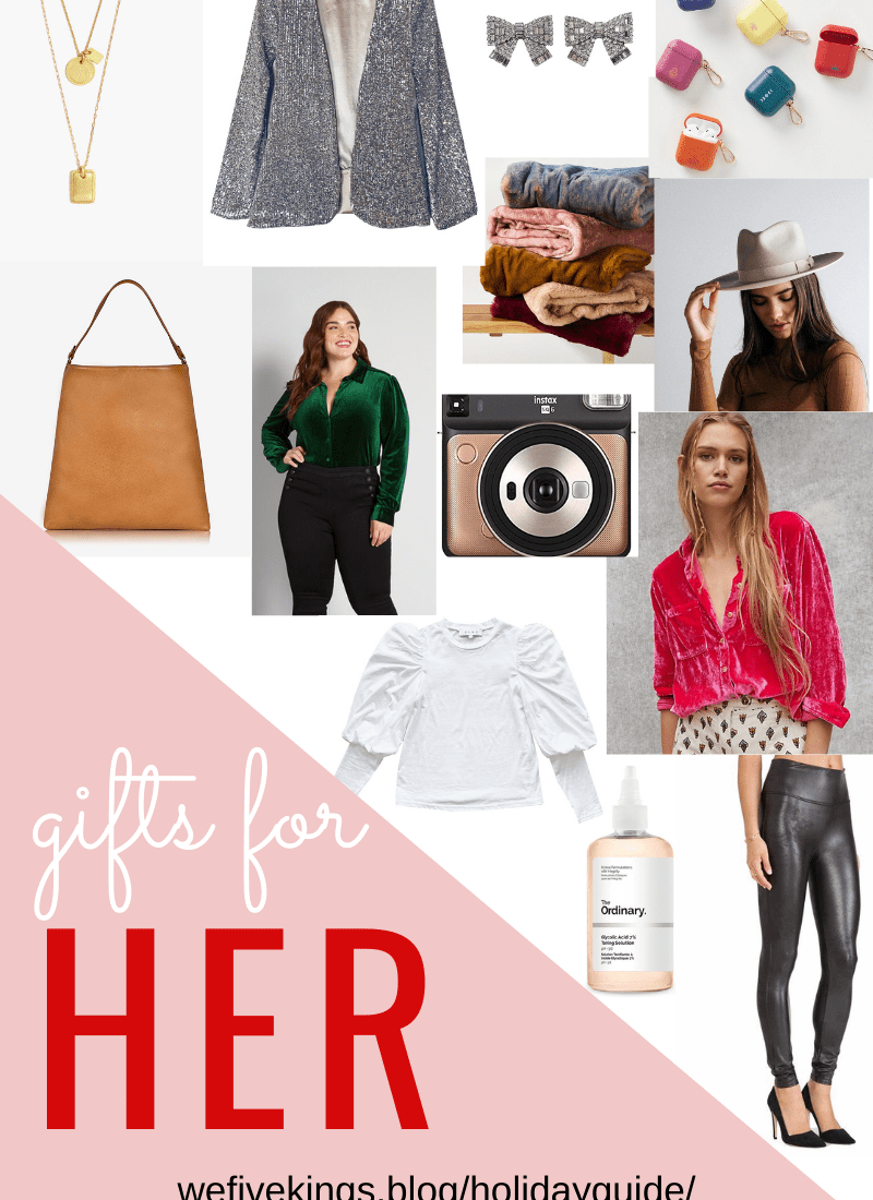 Holiday Gift Guide – For Her