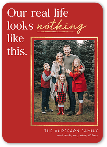 Classic red funny card from Shutterfly