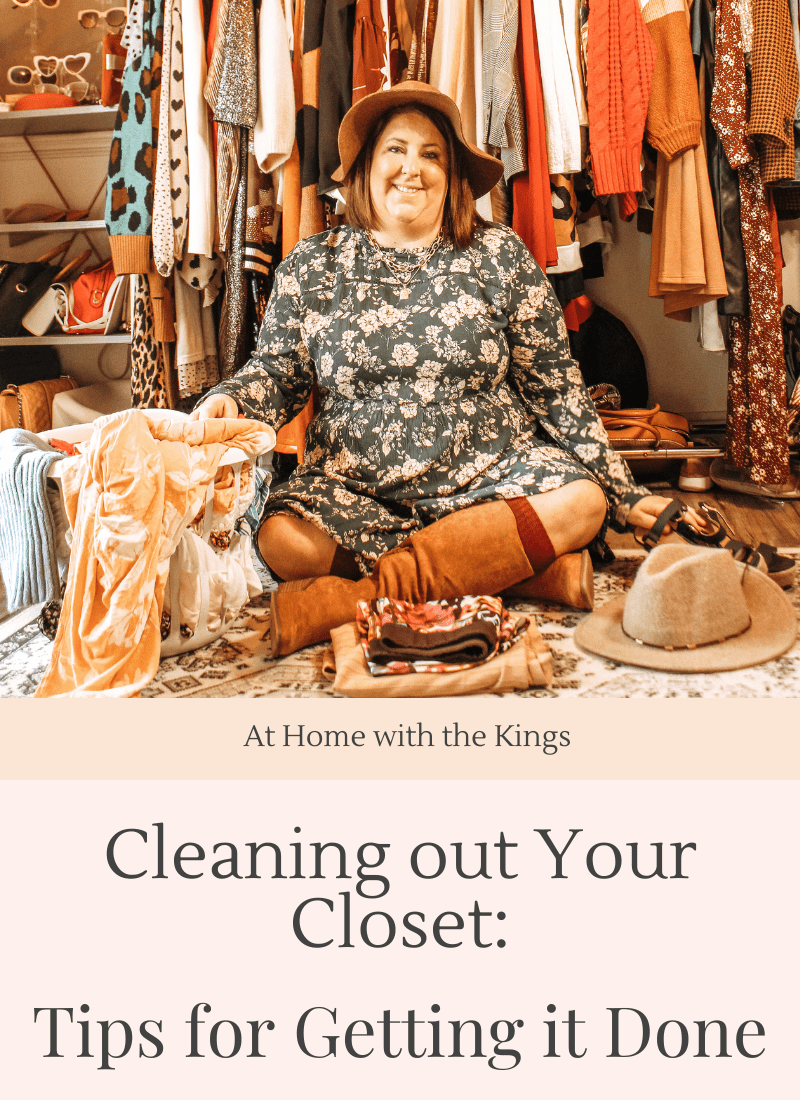 Cleaning Out Your Closet: Tips for Getting It Done