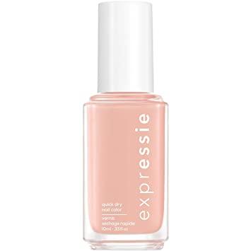 Essie nail polish.  Just peachy.