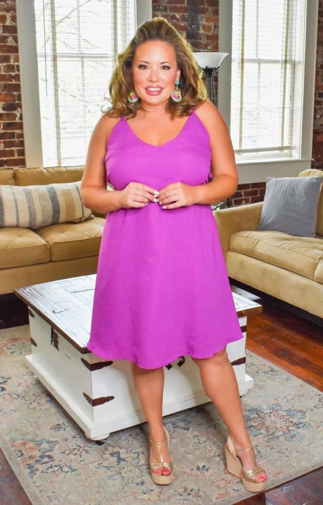 Purple Perfectly Priscilla Boutique dress