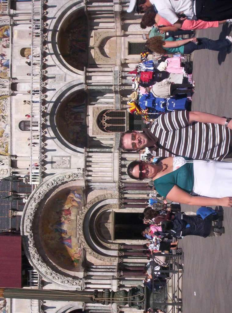 Justin and I in Venice