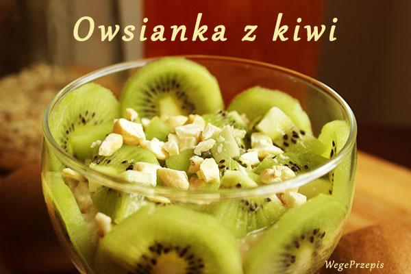 Owsianka z kiwi