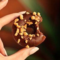 Keto donuty czekoladowe (bezglutenowe)