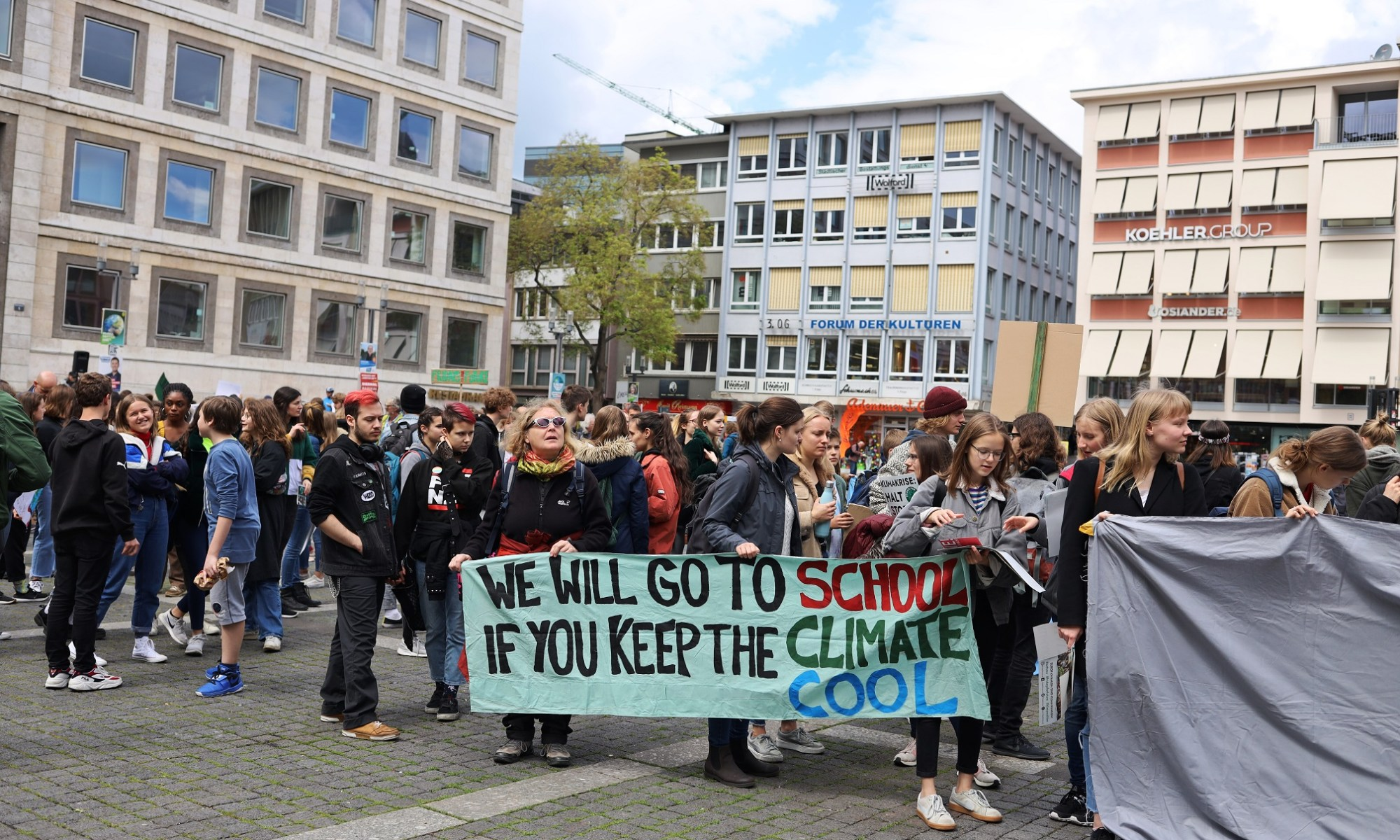 Fridays for Future Demonstration am 10.05.2019 in Stuttgart