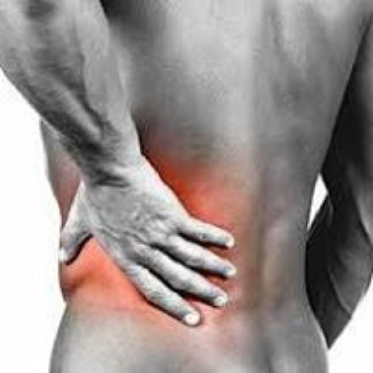 buikpijn en rugpijn