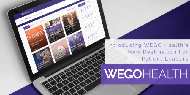 Introducing WEGO Health's New Destination For Patient Leaders