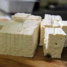 Firm tofu cubes