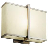 Kichler Satin Nickel 1 Light Fluorescent Wall Sconce From ...