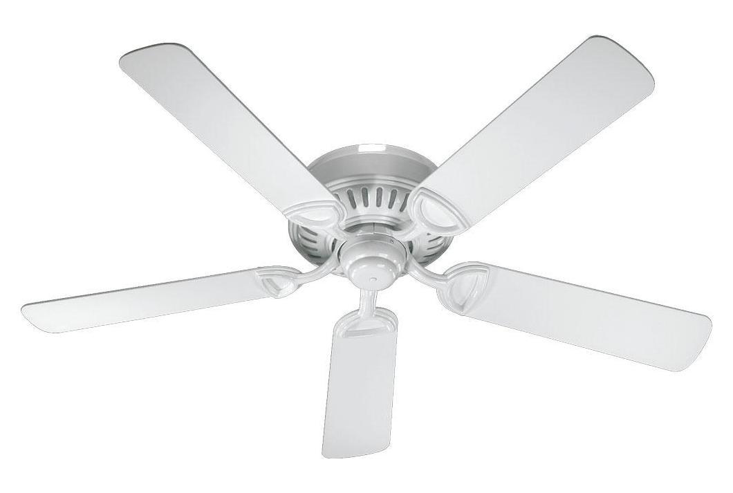 Quorum White Ceiling Fan White 51525