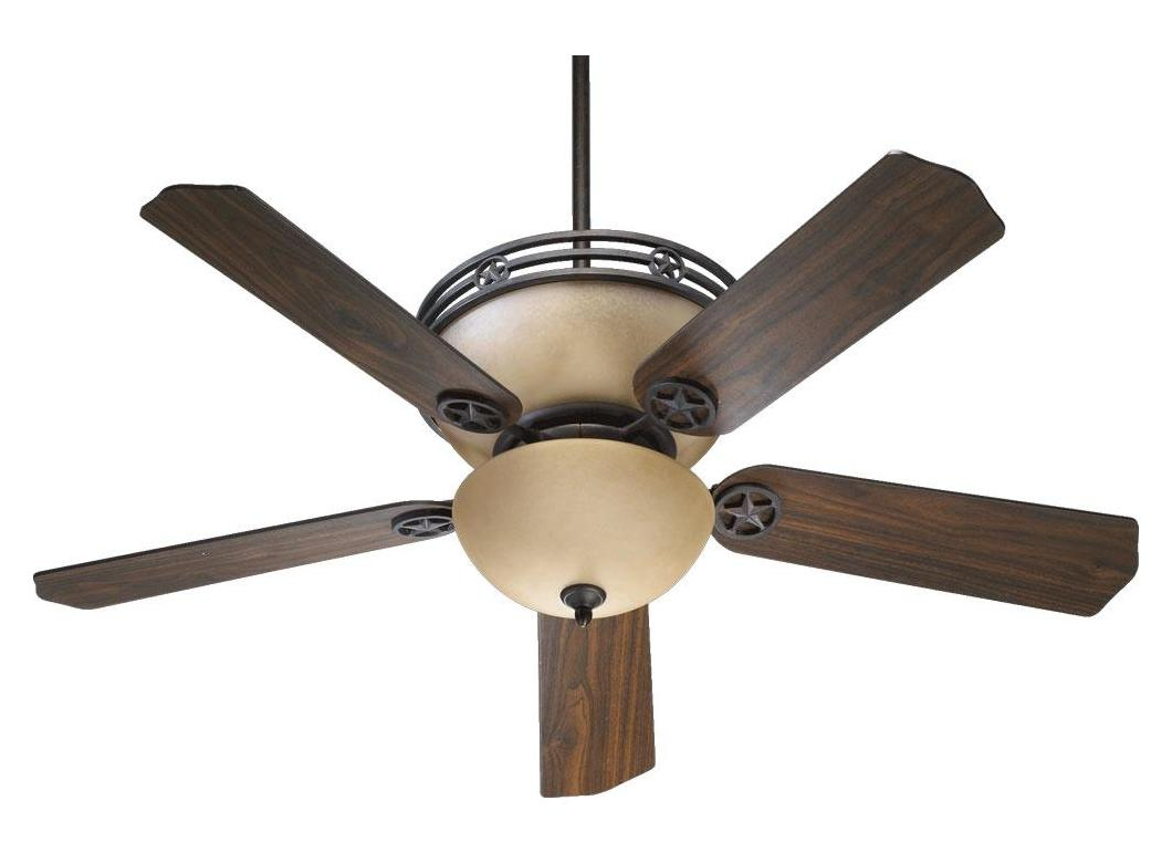 Quorum Toasted Sienna Ceiling Fan Bronze 80525
