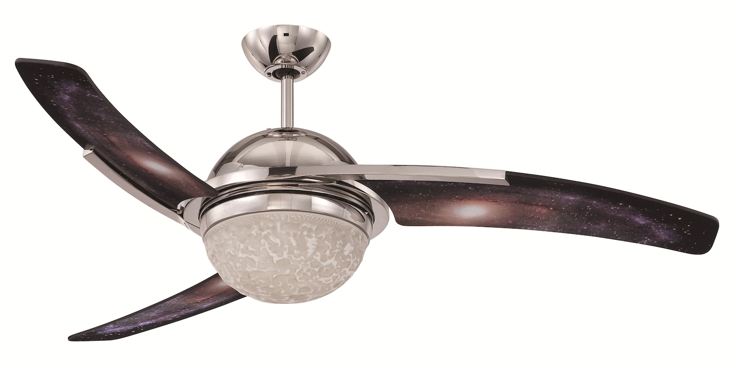 Craftmade Ceiling Fan With Blades Included Galaxy JU54GLX3