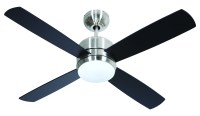 Craftmade Chrome 44in. 4 Blade Indoor Ceiling Fan - Blades ...