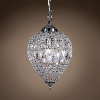 Joshua Marshal 7022-001 1 Light Beaded Crystal Mini ...
