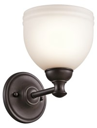 Kichler Wall Sconce 1Lt Oil Rubbed Bronze 45611ORZ From ...
