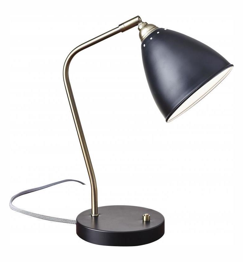 Adesso Chelsea Desk Lamp Black 3463