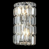 """Maxim Collection 2-Light 6"""" Chrome Wall Sconce with Clear ..."""