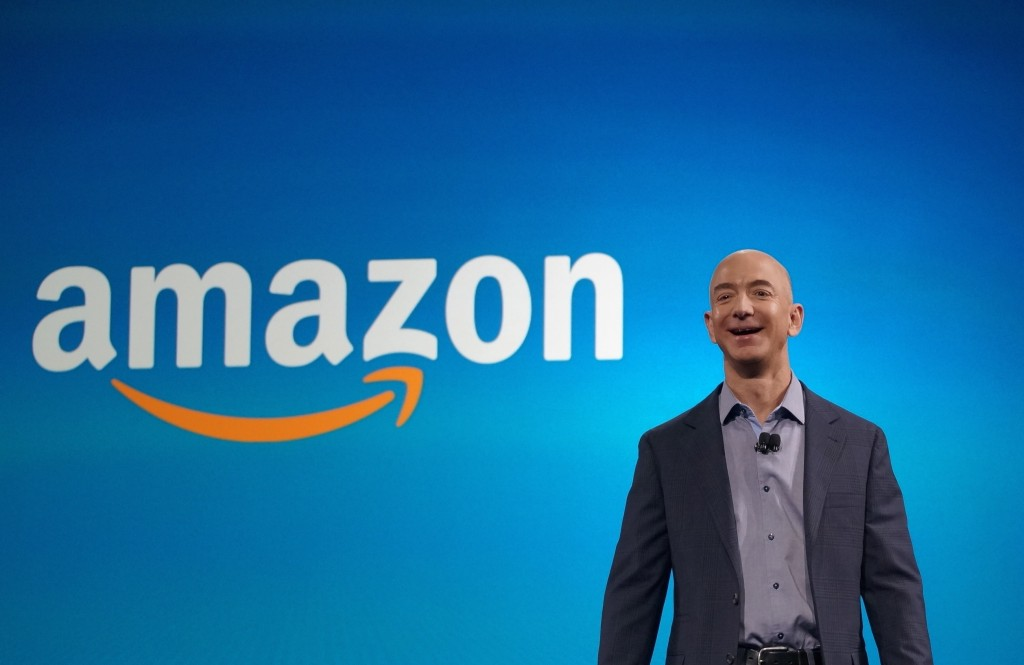 Jeff Bezos founder of Amazon briefly becomes world's richest man
