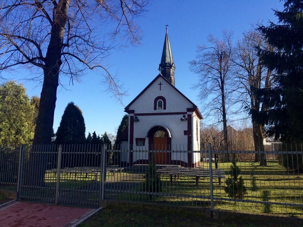 Kapliczka Wegrzce Wielkie