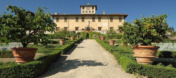 Italien Villen und Grten der Medici in der Toskana