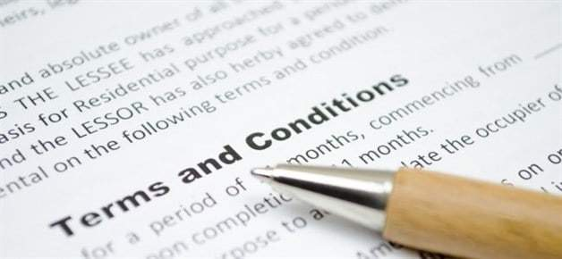 Terms And Conditions @WeHaulMovers