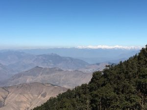 View from the Nag Tibba Summit