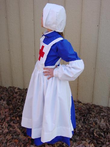 Royal Civil War Nurse Costume Clara Barton Florence
