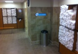 The 24 Hour Fitness on Santa Monica Blvd now offers towel service.