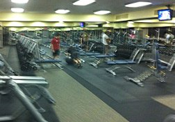 More weights at 24 Hour Fitness