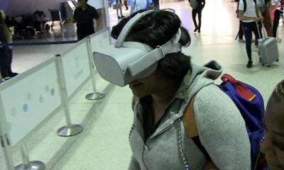 Tiffany Haddish Is a Virtual Reality Star at LAX