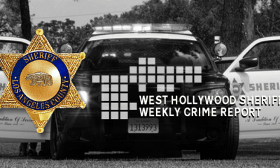 West Hollywood Crime Report 6/16/19