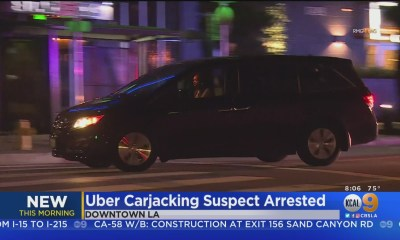 Woman Carjacks Uber, Leads Police On Wild Pursuit Through LA