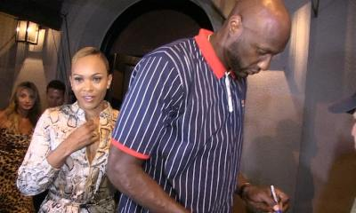 Lamar Odom Goes Hollywood Official With New GF
