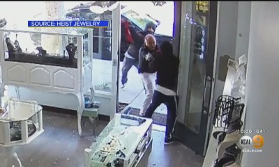 Despite Being Hit With Sledgehammer, Jewelry Store Owner Fights Back During Robbery