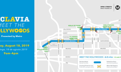 CicLAvia Map for 2019