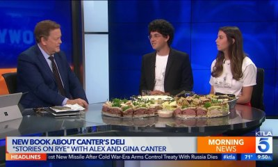 New Book About Canter's Deli, 'Stories on Rye' With Alex and Gina Canter