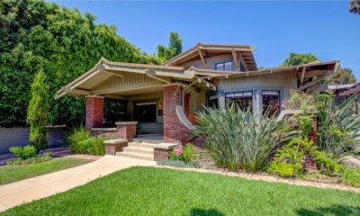 Actor Shane West puts 105-year-old Craftsman up for sale in Hollywood