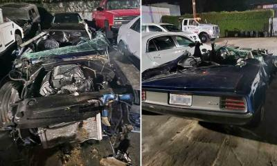 Kevin Hart Suffers Major Injuries in Car Accident, Roof Crushed