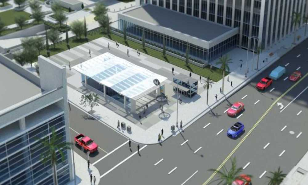 Beverly Hills Plans for Second Entrance at Wilshire/Rodeo Station