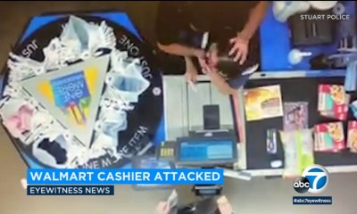 Drunk Florida man chokes Walmart cashier in chilling attack caught on video