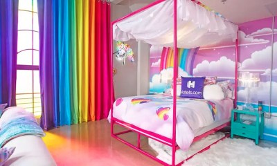 Rent the multicolored Lisa Frank room of your dreams for $199 a night
