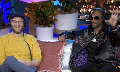 Seth Rogen and Snoop Dogg on the Howard Stern Show